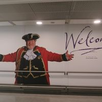 夏のロンドン旅行� JAL飛行機・ミレニアムグロスターホテルロンドン・Garfunkel'sレストラン