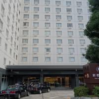 京(今日)のお宿は駅の前。便利なところにあります。