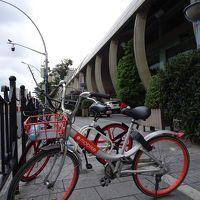 上海・杭州 自転車シェアリング体験