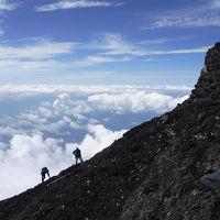 富士山 バリエーションルート「主杖流し」