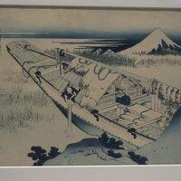 北斎などを見るために東京国立博物館へ