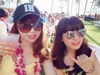 """32-2★楽園のハワイに全員集合(*^^*)�♪雑誌やTVで紹介されたビーチ&グルメ巡り『☆オアフ西回り編』♪お誕生日は""""Noe""""で"""