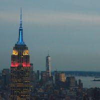 ニューヨーク、80時間ドタバタ旅行記 �Top of the Rockからの911夜景