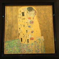 ベルヴェデーレ宮殿のオーストリア・ギャラリーでクリムトを鑑賞する