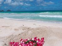 """32-3★楽園のハワイに全員集合(*^^*)�♪雑誌やTVで紹介されたビーチ&グルメ巡り『☆オアフ東回り編』♪最終日のディナーは""""クラッキン・キッチンで"""""""