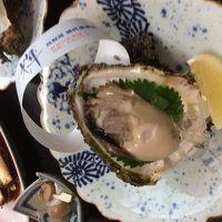 鳥取、岩牡蠣食べに、砂の美術館のアメリカ🇺🇸モニュメントを見に。