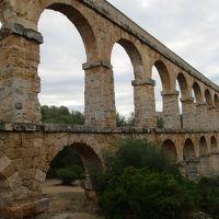上を歩けるって?紀元2世紀の水道橋@タラゴナ(2017年8〜9月の旅 その4)