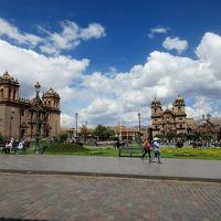 インカ帝国時代の古都クスコ