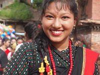 【震災後2年】ネパール一人旅 旅行記� バクタプルにお祭りがやってきた!