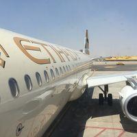 エティハド航空ビジネスクラス A320 カイロ→アブダビ搭乗記