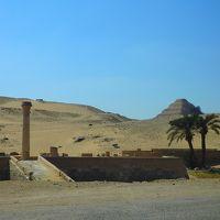 プライベートツアーで巡るエジプト。。。カイロ街歩きとサッカラ・ダフシュールのピラミッド群