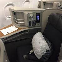 2017年 10月 アメリカン航空 国内線  SFO/JFK ファーストクラス搭乗記  夫婦で2回目のヨーロッパ旅行記 その1