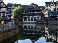 夕暮れ時のストラスブール、さまよい歩き☆再びドイツへ 新緑のドイツ・フランスの旅8-3