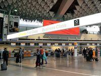 フランクフルト空港、初ラウンジ☆再びダブルデッカー2階席で帰国 新緑のドイツ・フランスの旅10-2