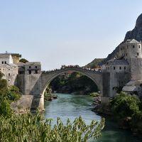 クロアチアメインの旧ユーゴ4ヶ国と最後に少しオーストリア1人旅 その5:モスタル編 オスマン朝時代の影響が色濃く残るオリエントな香りが漂う世界遺産の町