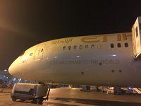 エティハド航空ビジネスクラス アブダビ→東京 B787 搭乗記