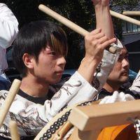 富士山本宮浅間大社 例大祭の太鼓・お囃子デモに遭遇! ラッキーでした!
