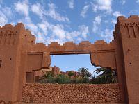 モロッコ カスバ街道 ワルザザード