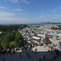 【ザルツブルク州とドロミテ】音楽の街ザルツブルクを観光
