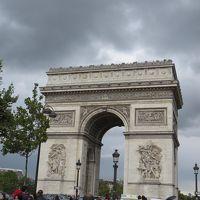 2017年9月 スイス・フランスの旅 パリ編� 凱旋門