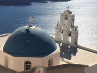 2016年サントリーニ島ーパロス島旅行記3(サントリーニのタベルナと街歩き編)