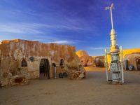 チュニジアのドゥーズ映画「スターウォーズ」のロケ地
