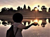 悠久の歴史〜インドシナの遺跡・世界遺産を訪ねる旅 その� 6日目:アンコールワットで朝日を拝む!