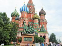 ちょこっとモスクワで2泊 その5 聖ワシーリー寺院に入りました!