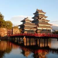 日本100名城巡りの旅 長野編  松本城・高遠城、戸隠神社・上高地・上諏訪神社も回りました。