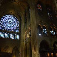 2017年9月 スイス・フランスの旅 パリ編� ノートルダム寺院