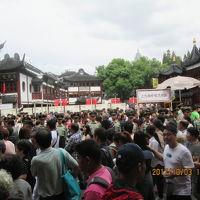 上海の豫園・2017年中秋国慶節・混雑