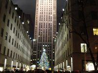 クリスマスのニューヨーク