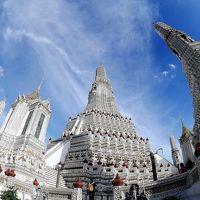 2017年 微笑みの国タイ【その5】 白亜に蘇った寺院ワットアルン