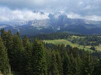 【ザルツブルク州とドロミテ】オルティセイ郊外のリゾートホテルに1泊してシウジ高原へ日帰り