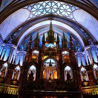 カナダ(8) モントリオール ノートルダム大聖堂