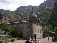 2006年アルメニアに行ってみた�(ガルニとゲガルト修道院へ)