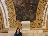 """初冬のロシア旅(7) モスクワ・シーケンス 地下鉄の駅巡りに飽きて泣き言を言っても""""モスクワは涙を信じない""""。"""