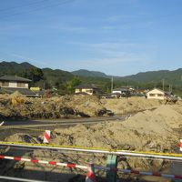 久しぶりの福岡への旅�原鶴温泉へ・・九州北部豪雨災害風景を見ながら