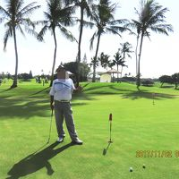JAL ビジネスクラスで行くハワイ3 泊5 日のゴルフ旅行 2日目