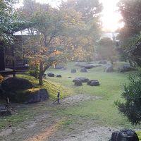 久しぶりの福岡への旅�ホテルパーレンス小野屋の庭園露天風呂付近の風景