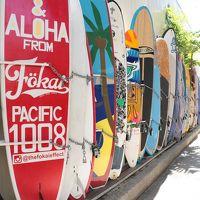 毎年変貌するハワイ。今年はダイアモンドヘッドに登り、新しくなったインターナショナルマーケットプレイスで買い物をして、ラニカイビーチでボーとしました(2)