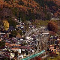 錦秋の中山道・奈良井宿と中央西線沿線に広がる紅葉を探しに訪れてみた