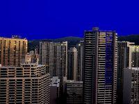 ヒルトングランドアイランダー30階山側、夜明け前