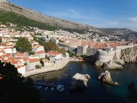 碧く輝くクロアチア・ドゥブロヴニク城壁歩きとクルーズ(後半)(11)