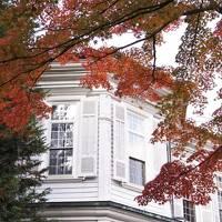 富士屋ホテルの紅葉(西洋館・11月22日)