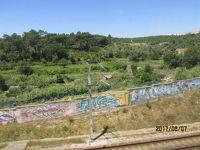 イベリア周遊の旅(76)シントラまでの車窓風景。