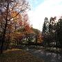 紅葉の見頃もすっかりすぎ、とても静か。