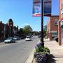 今回紹介するのは、あの不思議な形のビルのある中心地から少し離れたStreetsvilleというクラシカルな街です。