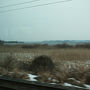 昨日は仙台から東北線を北上しましたが今日は逆に南下です。この先仙台、福島、そして東京へと続く東北線ですが各駅停車で行こうとすれば結構乗り換えが多いようで・・・平泉から乗った電車は一ノ関まで、次は小牛田までと結構ぶつ切りになっています。やがて車窓には昨日訪れた伊豆沼が・・・