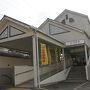 ●近鉄枚岡駅  近鉄鶴橋駅から普通で約20分、東大阪市の近鉄枚岡駅に到着しました。